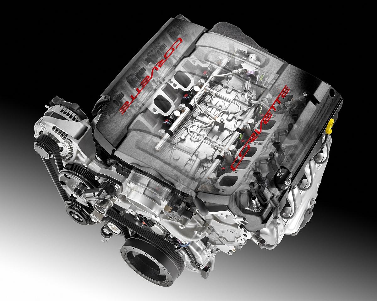 2014-er-Corvette-Motor-Einspritzysystem