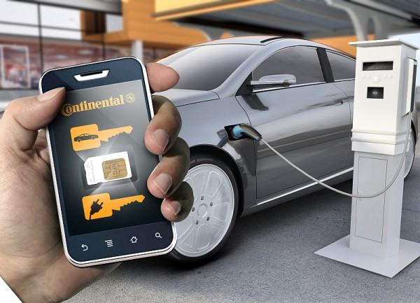 Continental-Smartphone-Autoschlüssel