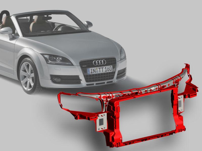 Lanxess-Frontendträger für den Audi TT