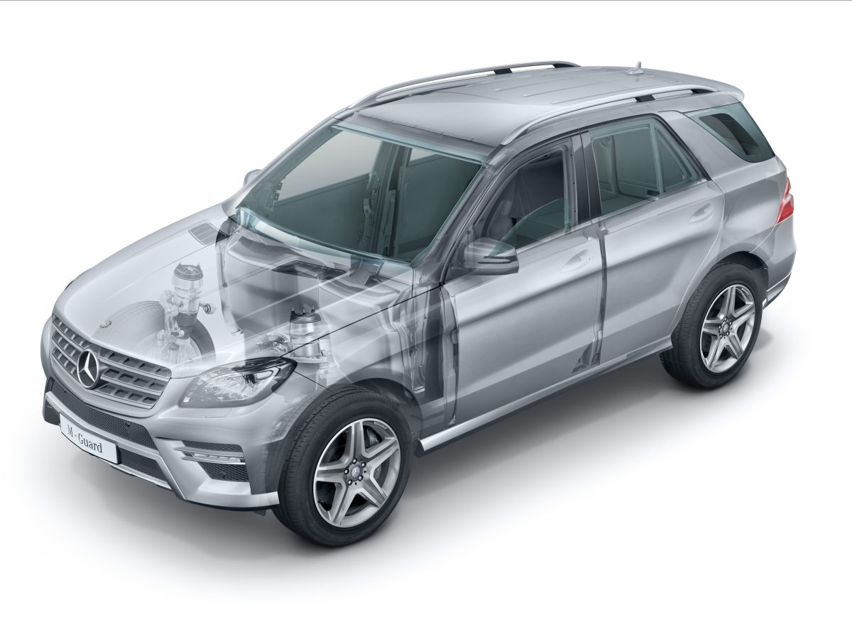 Mercedes-Benz M-Klasse Guard