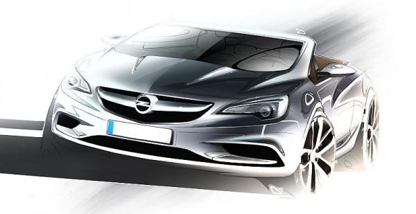 Opel-Cascada-Design Skizze