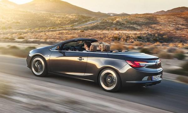 Opel Cascada Fahrt