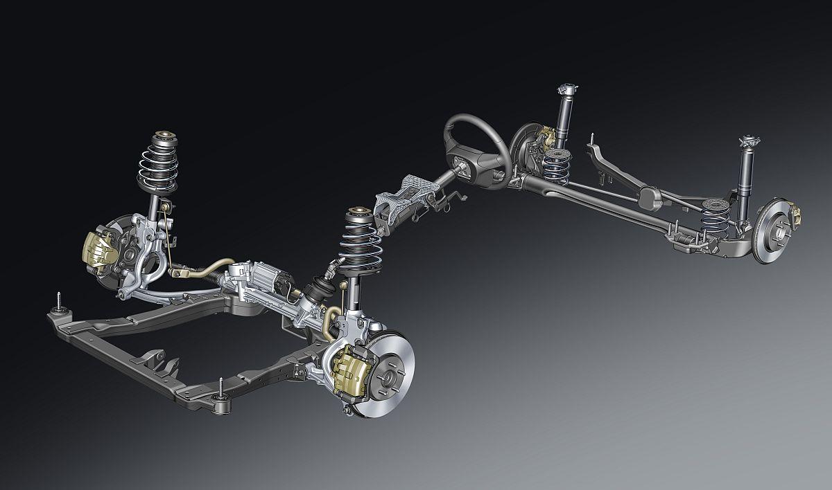 Opel Cascada Fahrwerk