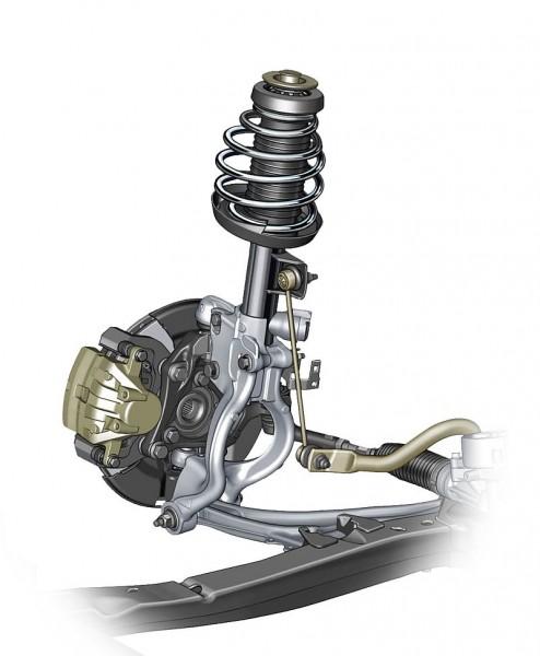 Opel Cascada - HiPerStrut-Aufhängung