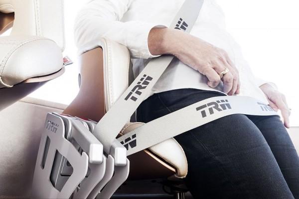 TRW Stehsitz-Gurtsystem