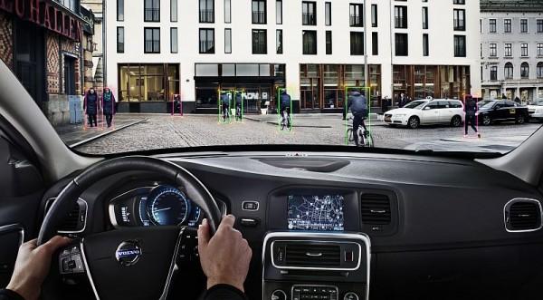 Volvo-Notbremsassistent-Fahrradfahrer-Erkennung