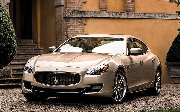 ZF-Technologie im neuen Maserati Quattroporte