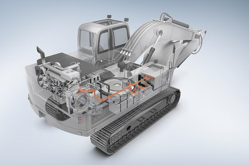 Bosch Hybrid-Bagger