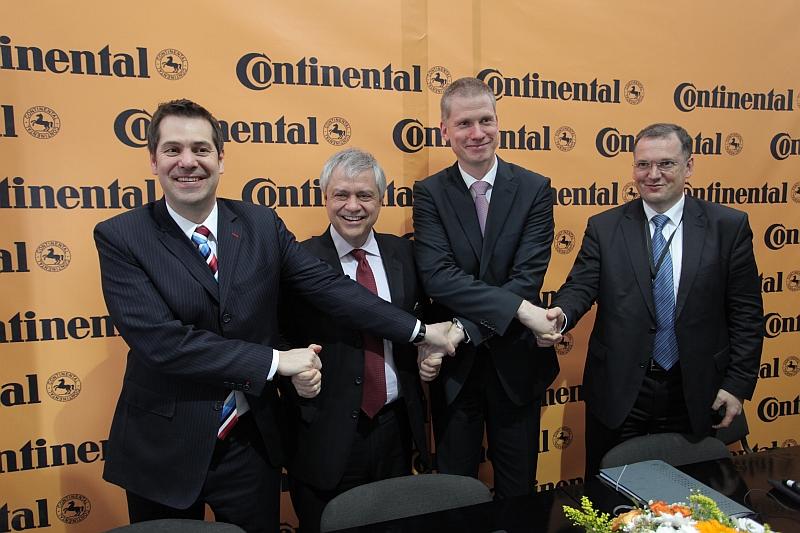 Continental baut neues Werk in Russland