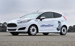 Ford Fiesta E-Wheel-Drive
