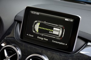 Mercedes B-Klasse Electric Drive Infotainment