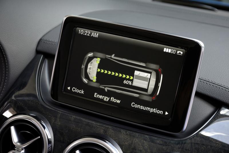 Mercedes B-Klasse Electric Drive Infotainment