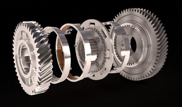 Hoerbiger Compactline-Getriebe mit Außenkonus-Synchronisierung