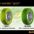 Grüner Reifen