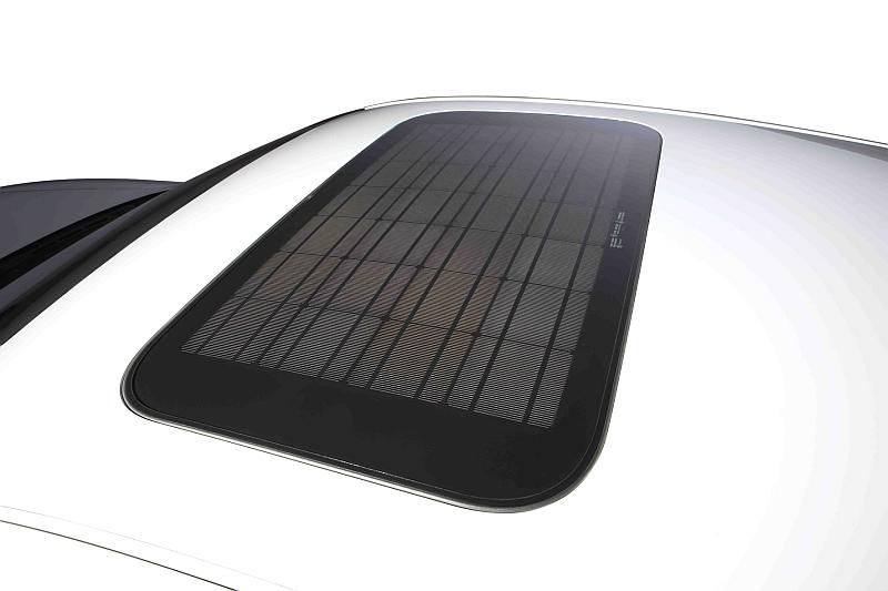 Audi a8 solardach