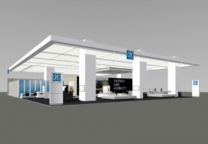 ZF Messestand IAA 2013