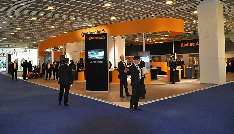 IAA 2013 – Messestand Continental