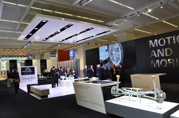 IAA 2013 - Messestand ZF