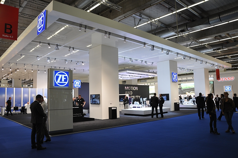 IAA 2013 – Messestand ZF