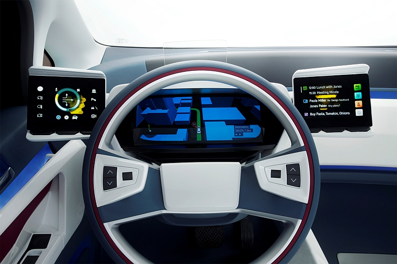 Visteon e-Bee Cockpit