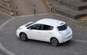 Nissan Leaf im City-Test