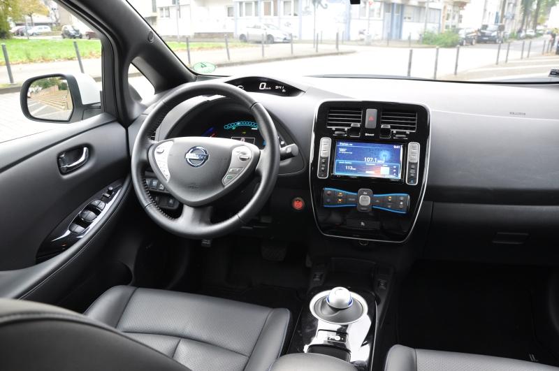 Nissan Leaf Test Cockpit