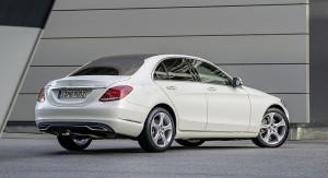 2014 Mercedes C-Klasse W205-Hinten