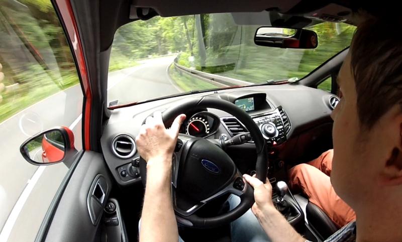 Ford Fiesta ST Cockpit