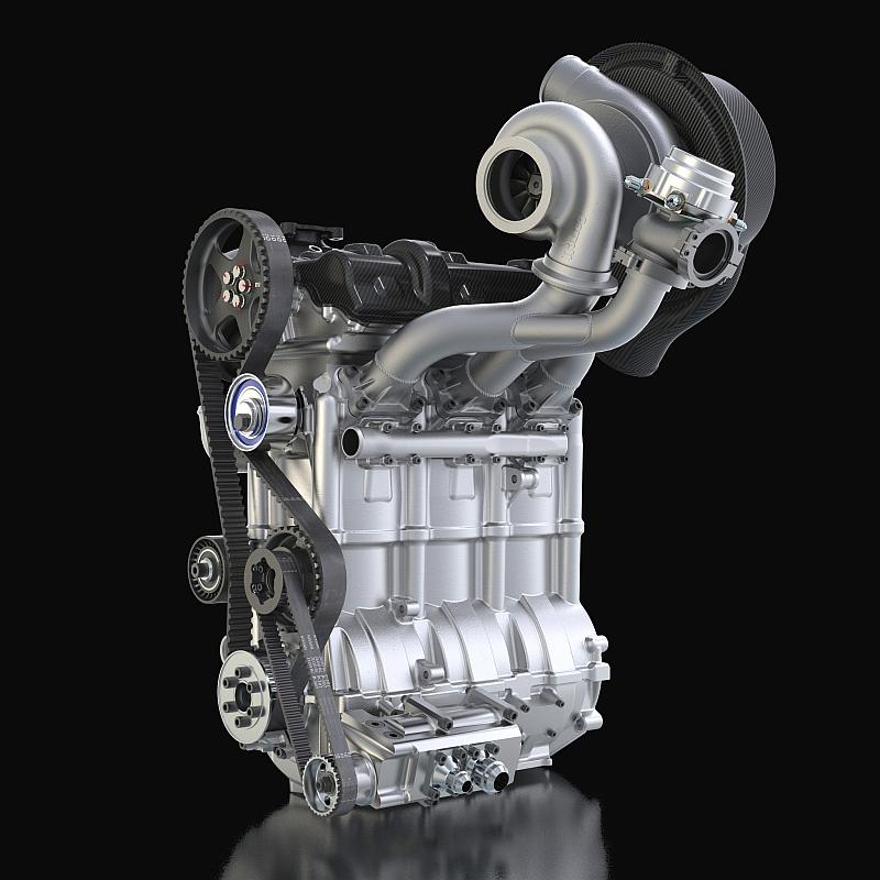 1,5-Liter-Dreizylinder DIG-T R von Nissan