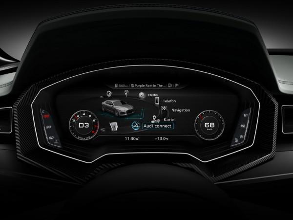 Audi Virtual Cockpit auf der CES 2014