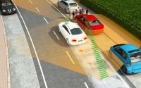 Das funkbasierte Sensorsystem kann Fußgänger auch dann orten, wenn sie durch Hindernisse verdeckt sind. [Bild: Ko-TAG]