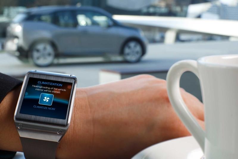 Samsung Galaxy Gear BMW i Remote App