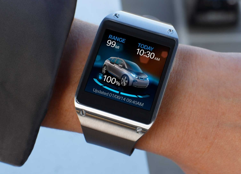 Samsung Galaxy Gear BMW i Remote App