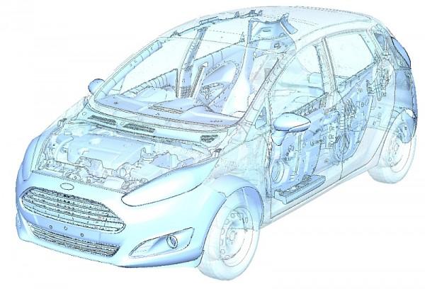 Virtuelle Tests von Ford