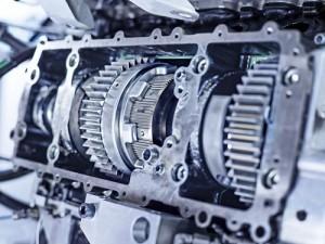 IAV Nebenwelle und Kupplung des Motors