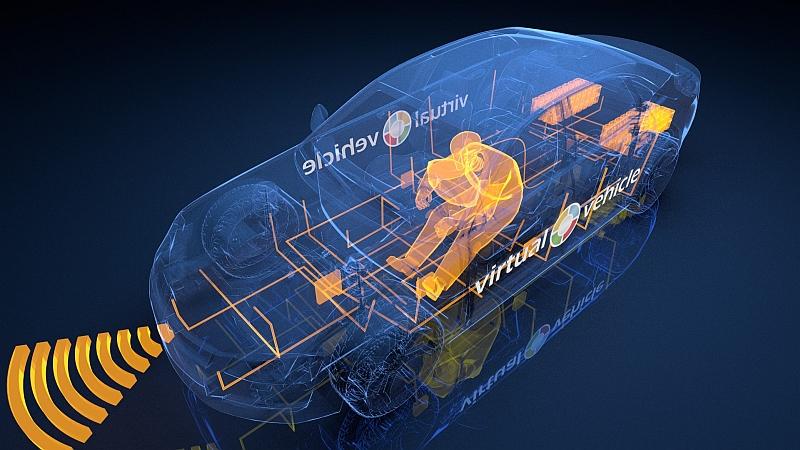 Der Crash-Test-Dummy bekommt einen virtuellen Partner – Das reaktive Mensch-Modell