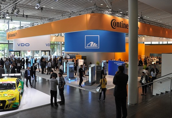 Automechanik 2014 - der Continental-Stand