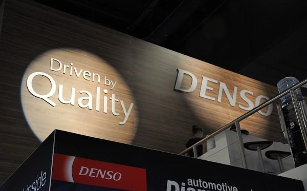 Automechanik 2014 - der Denso-Stand