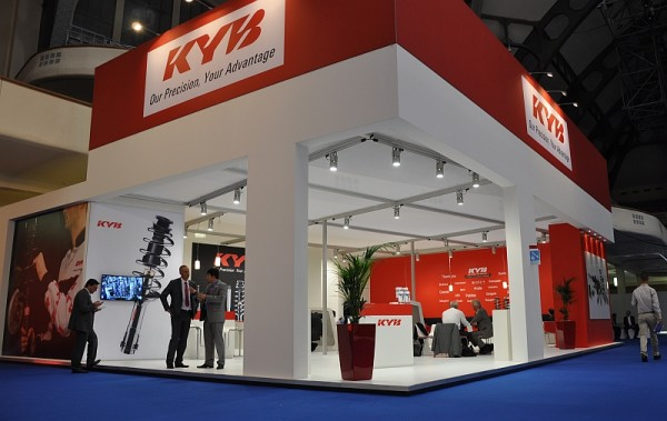 Automechanik 2014 - der KYB Europe-Stand