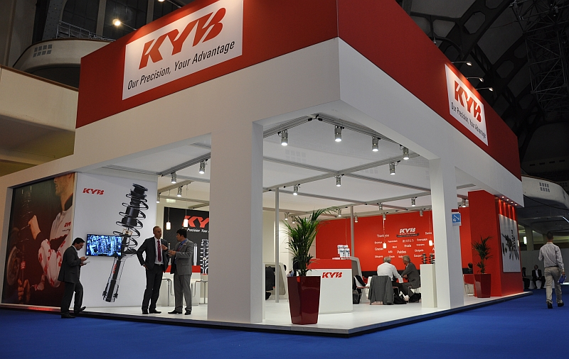 Automechanik 2014 – der KYB Europe-Stand