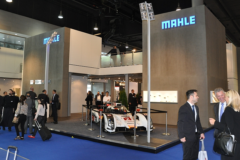 Automechanik 2014 – der Mahle-Stand