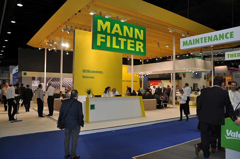 Automechanik 2014 – der Mann-Filter-Stand