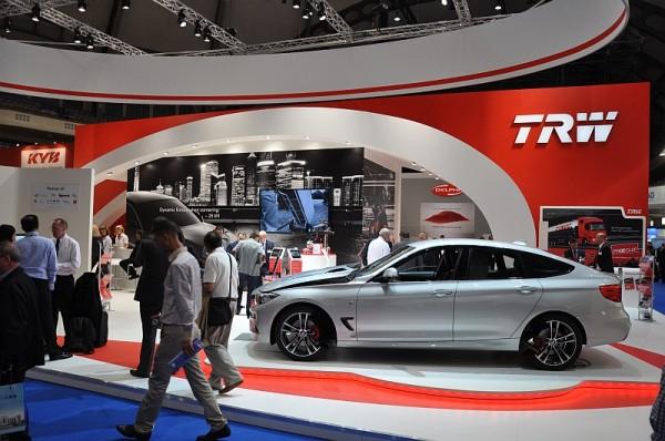 Automechanik 2014 - der TRW-Stand