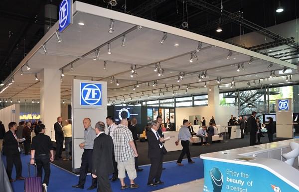 Automechanik 2014 - der ZF-Stand