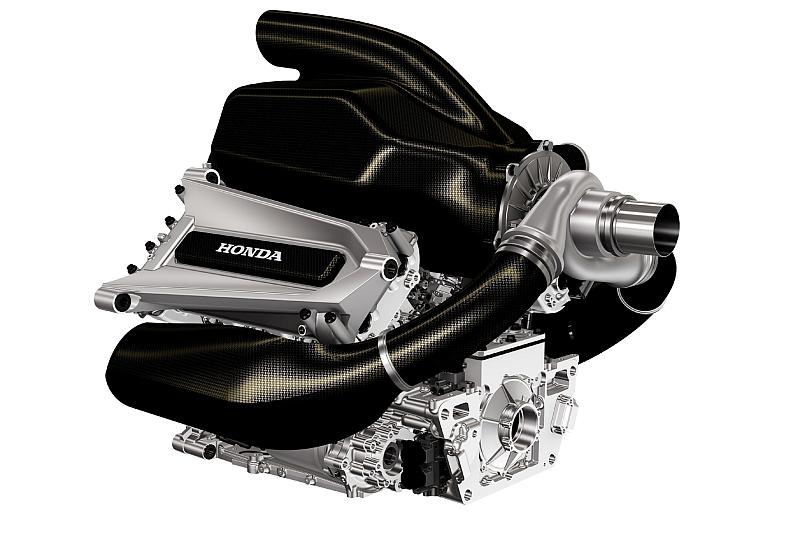 Noch ist es nur eine Computer-Grafik. Der 1,6-Liter-Turbo-Motor, mit dem Honda 2015 in die Formel 1 zurückkehrt.