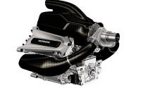 Noch ist es nur eine Computer-Grafik. Der 1,6-Liter-Turbo-Motor, mit dem Honda 2015 in die Formel 1 zurückkehrt. Bild: Honda