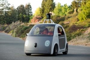 Technisch schon Realität - das selbstfahrende Auto von Google hat weder Lenkrad noch Pedale. Bild: Google