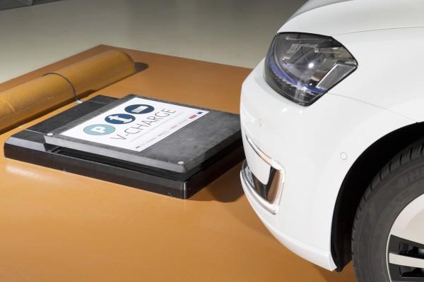 VW nutzt induktives Laden für sein V-Charge Projekt.