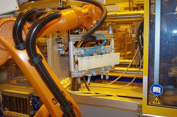 Automatisierte Fertigungszelle