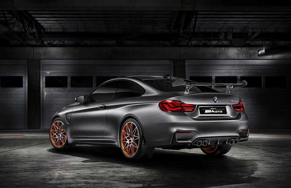 BMW Concept M4 GTS Teaer